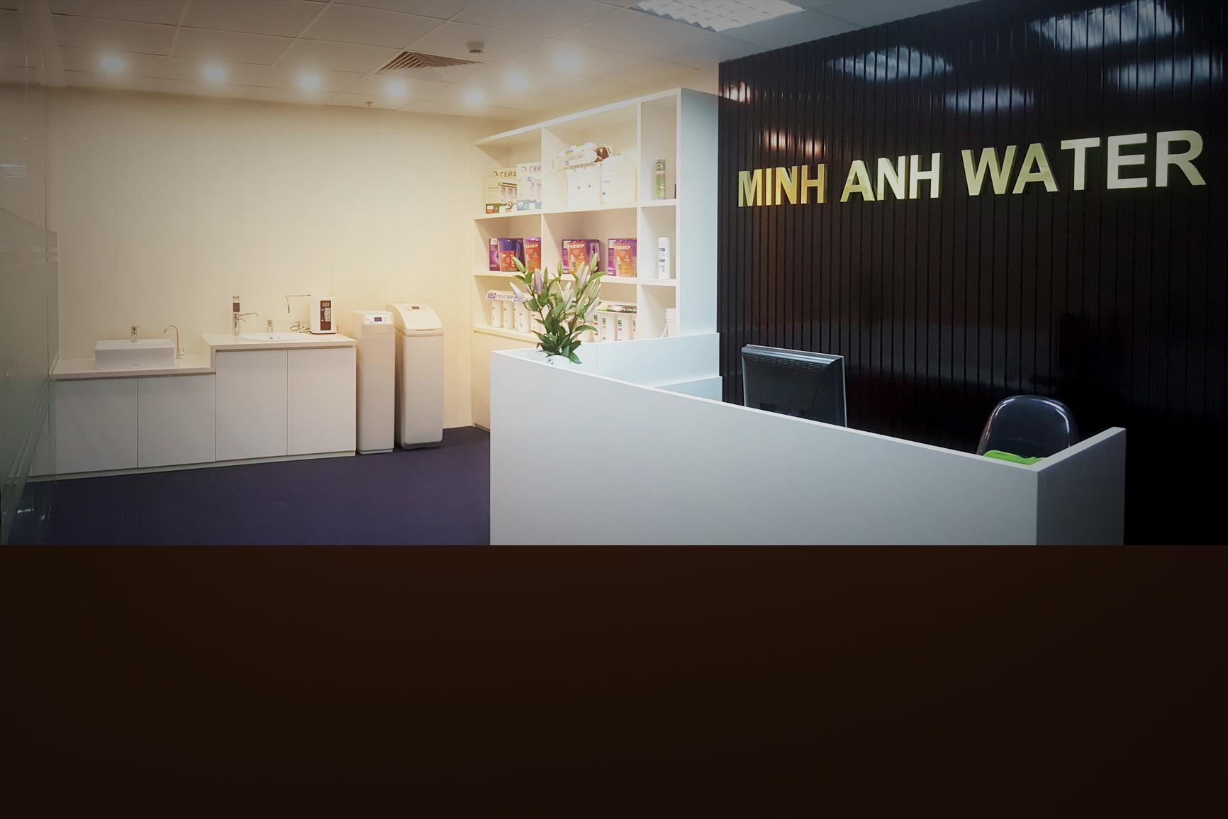 Minh Anh Water phân phối máy lọc nước chính hãng