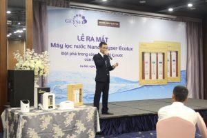 Buổi ra mắt sự kiện máy lọc nước nano Geyser Ecolux