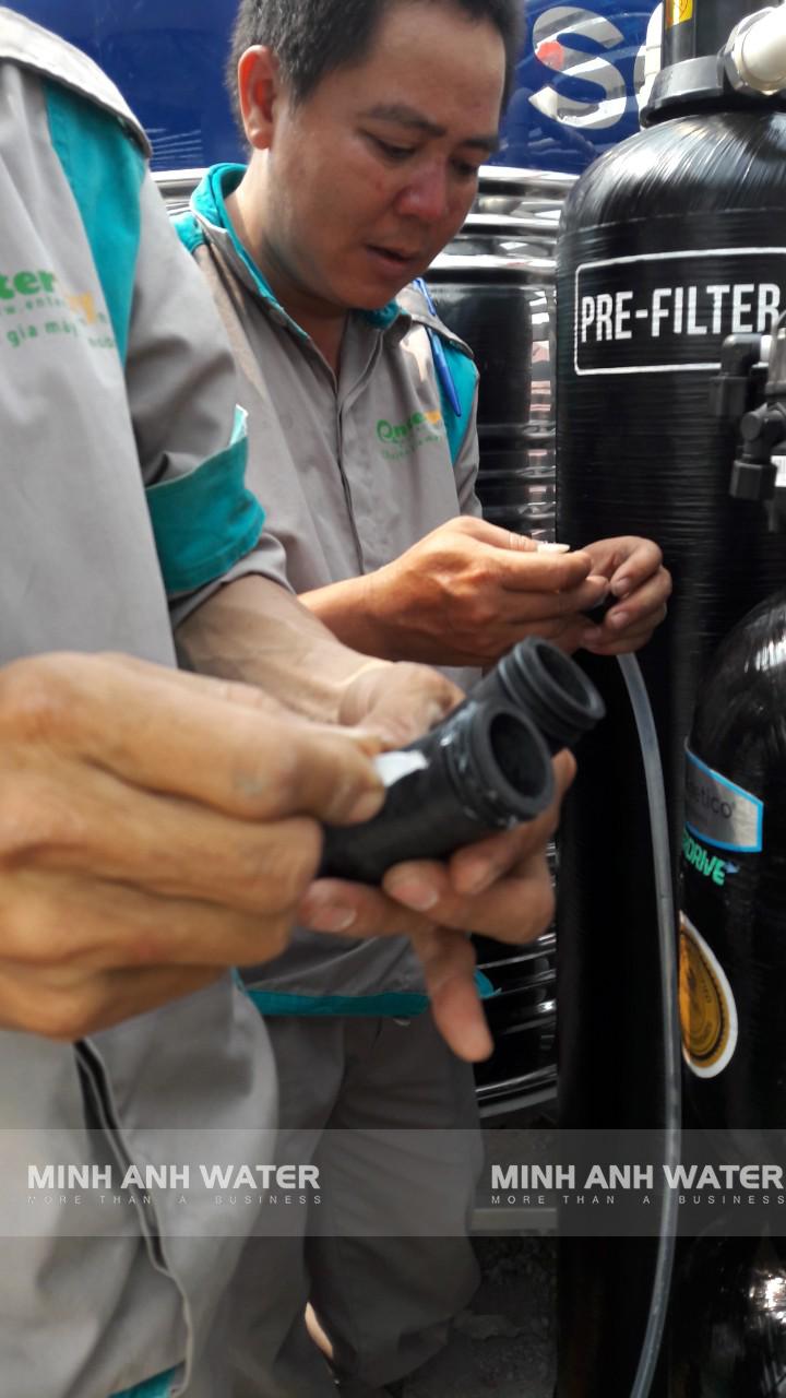 hệ thống lọc nước tổng Kinetico