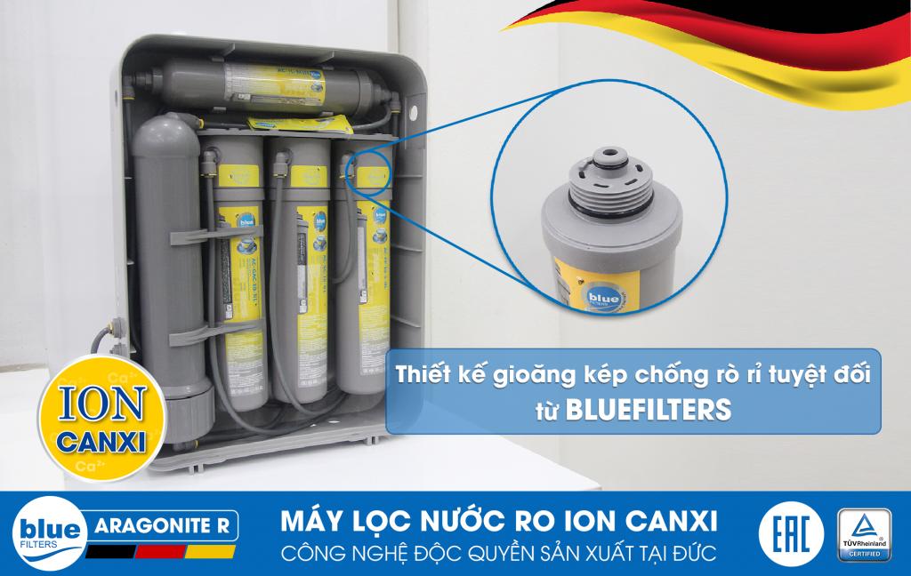 Máy lọc nước RO BlueFilters Aragonite R của Đức | Minh Anh Water