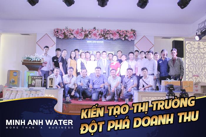 Hợp tác cùng Minh Anh Water để đi tới Thành công
