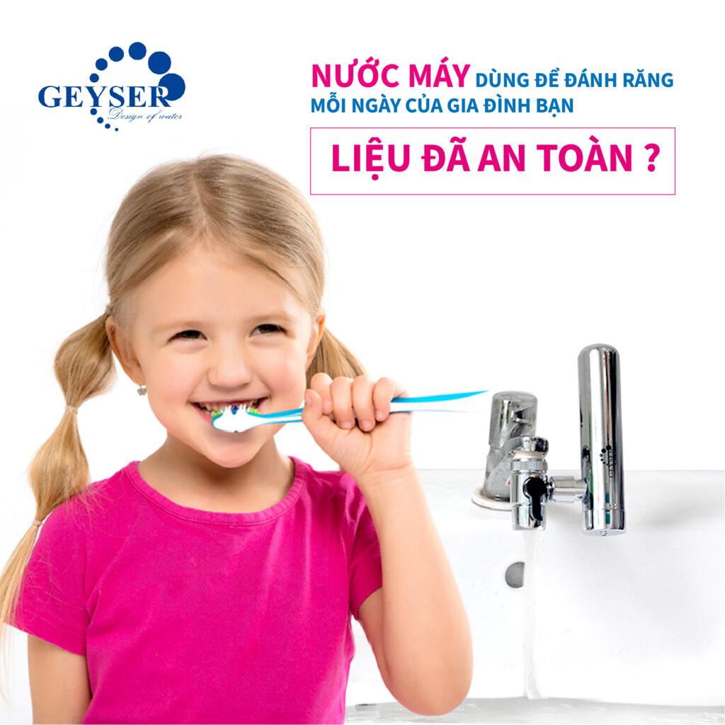 Clo và nhiều tạp chất trong nước là lý do sử dụng máy lọc nước tại vòi