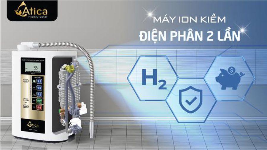 may loc nuoc ion kiem dien phan 2 lan atica